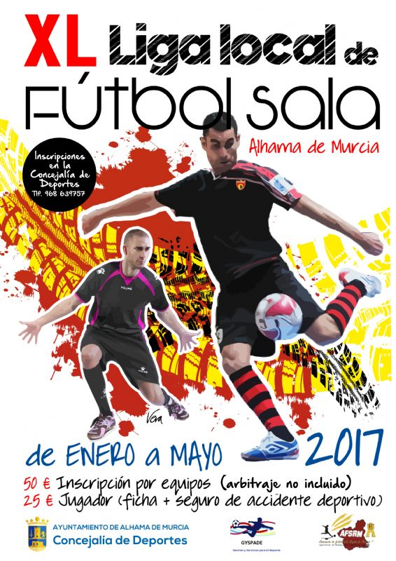 XL Liga local de fútbol sala