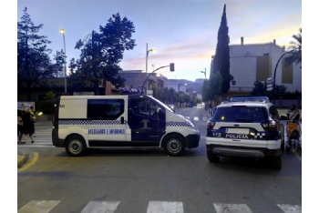 Controles de Policía Local en el mes de abril