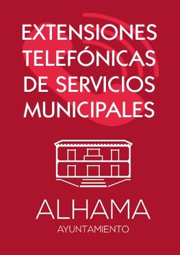 Extensiones telefónicas de servicios municipales