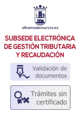 Subsede Electrónica de Gestión Tributaria y Recaudación
