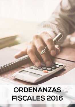 Ordenanzas fiscales 2016