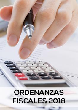 Ordenanzas fiscales 2018