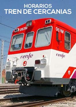 Horarios trenes Murcia-Águilas y Águilas-Murcia