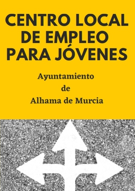 Folleto centro local de empleo para jóvenes