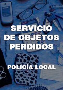 Servicio de objetos perdidos. Policía Local de Alhama de Murcia.