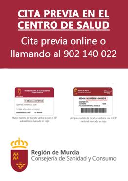 Cita en el Centro de Salud . Sale del sitio www.alhamademurcia.es
