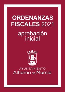 Ordenanzas fiscales 2021 (aprobación inicial)