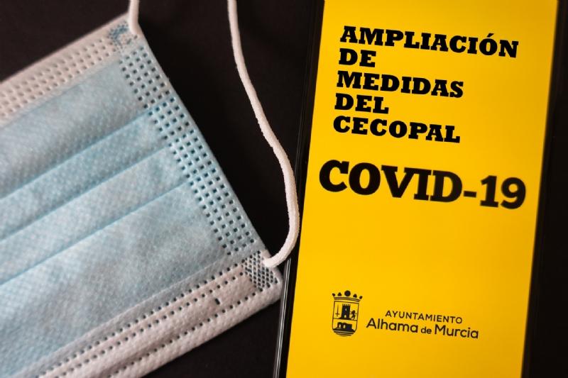 Prorrogadas las medidas adoptadas por el CECOPAL hasta el 15 de febrero