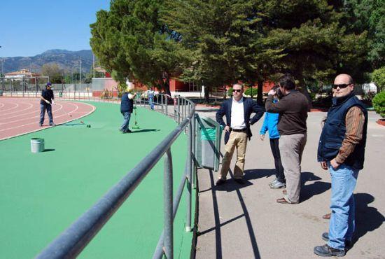 El Taller de Empleo remodela con importantes actuaciones el Complejo Deportivo Guadalentín