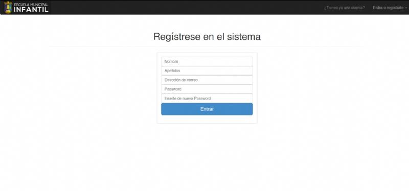 Realiza tu inscripción/renovación en las escuelas infantiles a través de esta nueva aplicación. Hasta el 1 de julio