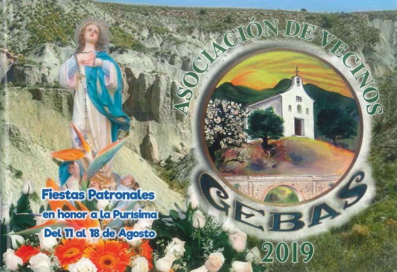 Fiestas de Gebas 2019. Del 11 al 18 de agosto 2019