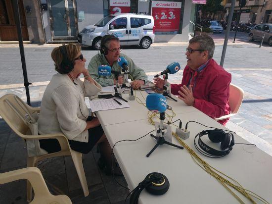 Alhama, protagonista en la radio regional