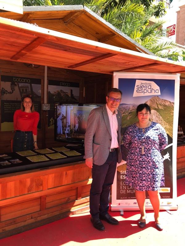 Alhama de Murcia y el Territorio Sierra Espuña participan en la IV Muestra de Turismo Regional