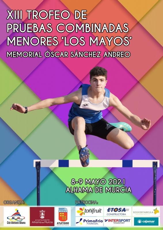 XIII Trofeo de Pruebas Combinadas de Menores Los Mayos: 8 y 9 de mayo de 2021
