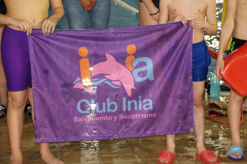 El Club Inia de salvamento y socorrismo comienza su andadura en Alhama