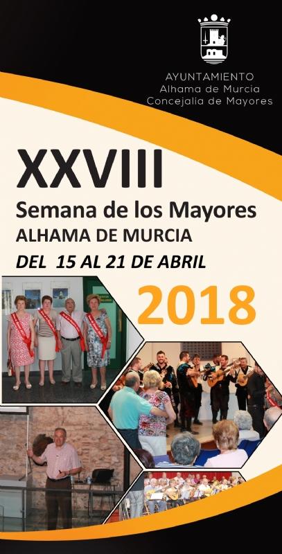 XXVIII Semana de los Mayores. Del 15 al 21 de abril de 2018