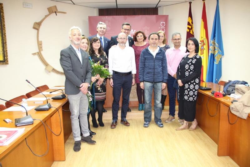 Javier Tuero y Jorge Saiz reciben el premio del XVI Certamen de Relato Breve Alfonso Martínez-Mena