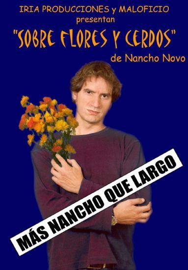 """""""Sobre flores y cerdos"""", a cargo de Nancho Novo, en el teatro cine Velasco el próximo viernes 18"""