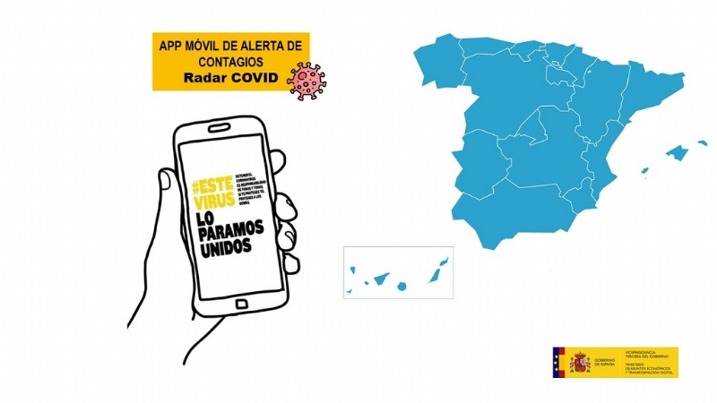 Radar COVID, la aplicación móvil de alerta de contagios
