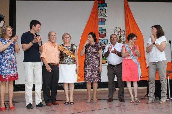 Clemente García y Ana María Tort, elegidos Reyes en la XXIV Semana de los Mayores