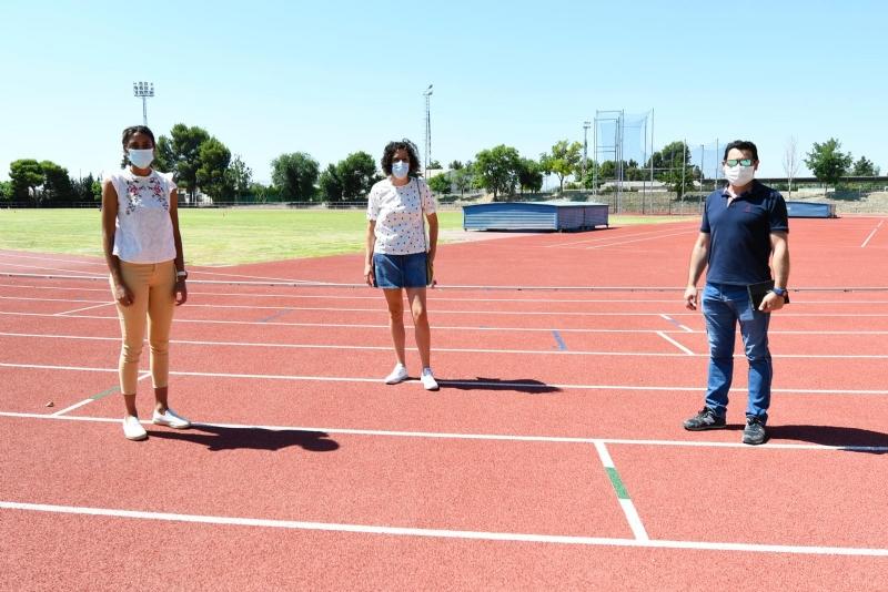 La pista de atletismo ultima los detalles para la vuelta a la competición