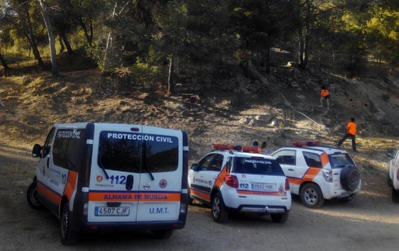 Protección Civil de Alhama vuelve a colaborar este verano en la prevención y extinción de incendios
