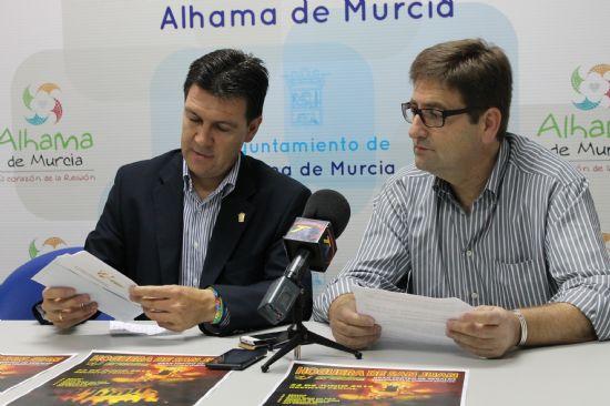 El alcalde de Alhama distinguido por la Asociación de Comerciantes de la localidad