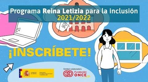 Ayudas de 5 millones de euros para la educación de personas con discapacidad a través del programa Reina Letizia