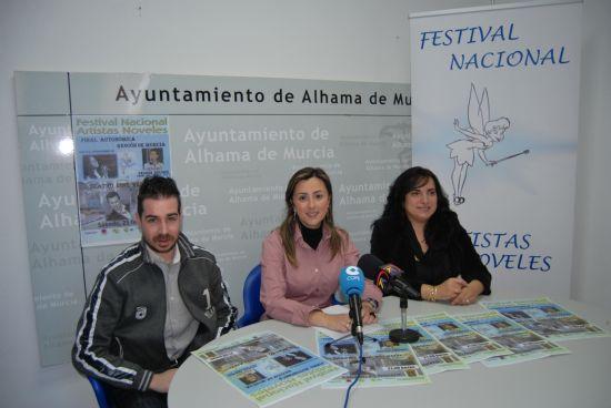 Alhama acoge la primera gala del Festival Nacional de Artistas Noveles