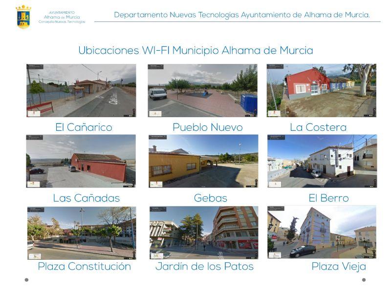 El Ayuntamiento ofrece wifi gratuito en las pedanías de Alhama
