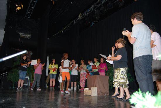 Concluyen los talleres de teatro extraescolares con la puesta en escena de las obras trabajadas en el curso
