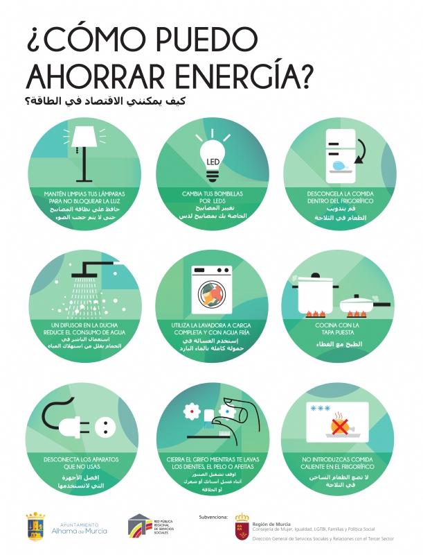 Servicios Sociales lanza una nueva campaña sobre pobreza energética