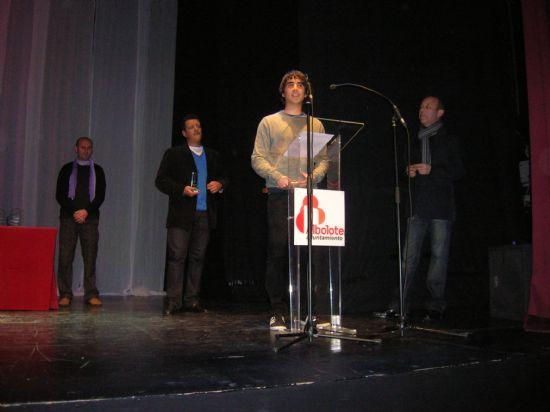 Sinfín vuelve a recoger premios en el Certamen de Teatro Amateur de Albolote (Granada)
