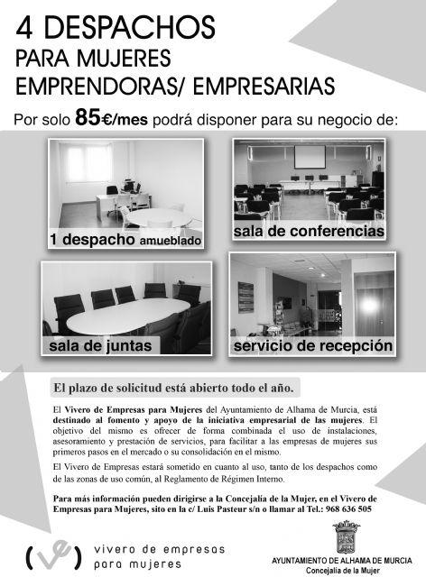 Vivero de Empresas para Mujeres - 1
