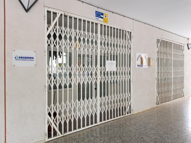 El lunes 18 también vuelve a abrir al público la oficina del servicio de agua potable (Socamex)