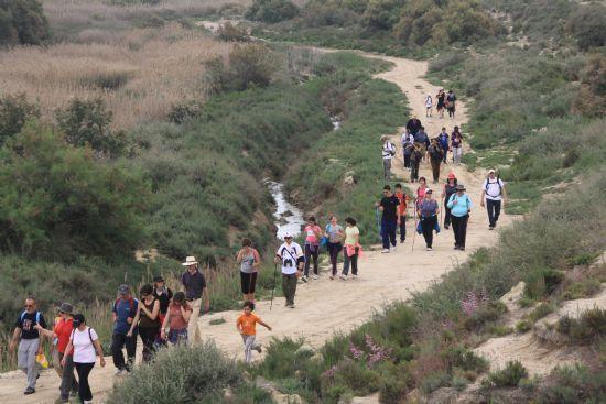Todavía quedan plazas para la ruta senderista del próximo sábado por los Saladares del Guadalentín, espacio protegido de características únicas en gran parte de Europa