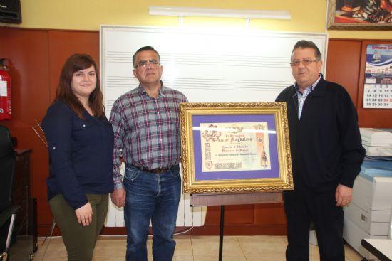 La Agrupación Musical de Alhama recibe el título de Hermano de Honor en Cartagena