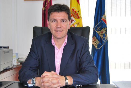 Alfonso Fernando Cerón, alcalde de Alhama, hace balance del primer año de legislatura