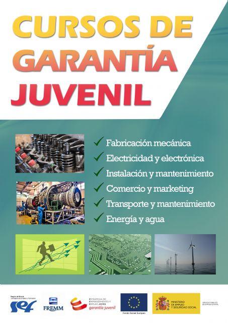 Cursos gratuitos Garantía Juvenil - 1
