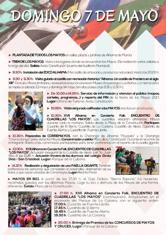 Programa Fiesta de Los Mayos 2017