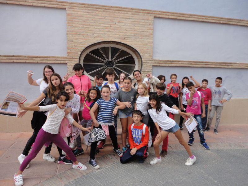Visita escolar al patrimonio municipal