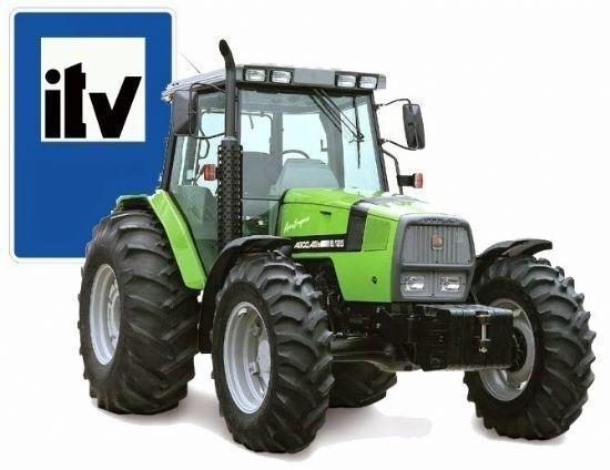 ITV para vehículos agrícolas: 5 de septiembre de 2018