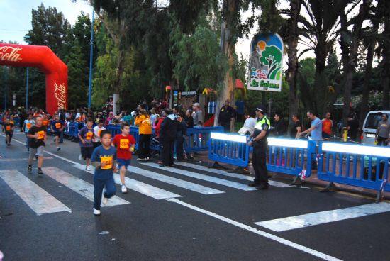 Casi medio millar de vecinos participan en la IV Milla organizada por el Ayuntamiento de Alhama