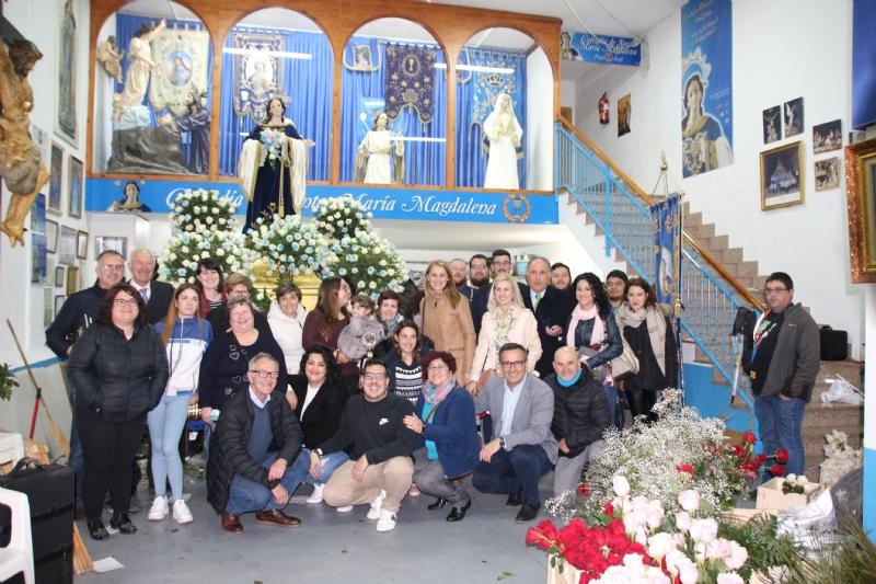 El ministro de Cultura descubre la Semana Santa de Alhama de Murcia
