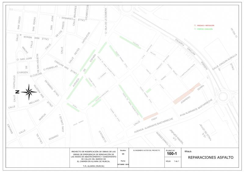 ATENCIÓN: restricciones de aparcamiento en el barrio del Carmen por trabajos de mejora en la calzada