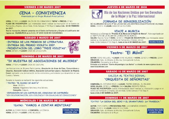 """Premio de literatura del """"Día de la Mujer"""""""