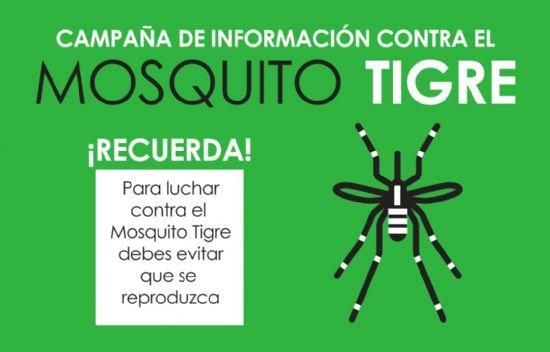 Campaña de información sobre el mosquito tigre