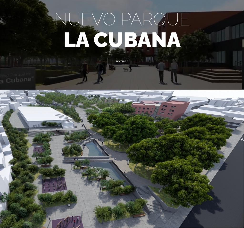 El Ayuntamiento comienza la primera fase del nuevo parque de La Cubana con la renovación del área de juegos infantiles y mejoras en la accesibilidad