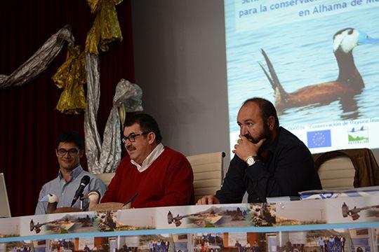 Concluyen las actividades del programa sobre la malvasía cabeciblanca