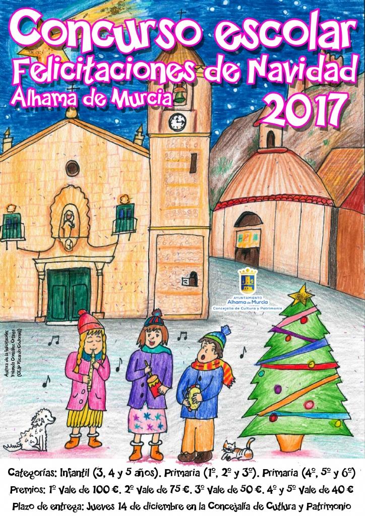 Ganadores del Concurso Escolar de Felicitaciones de Navidad 2017